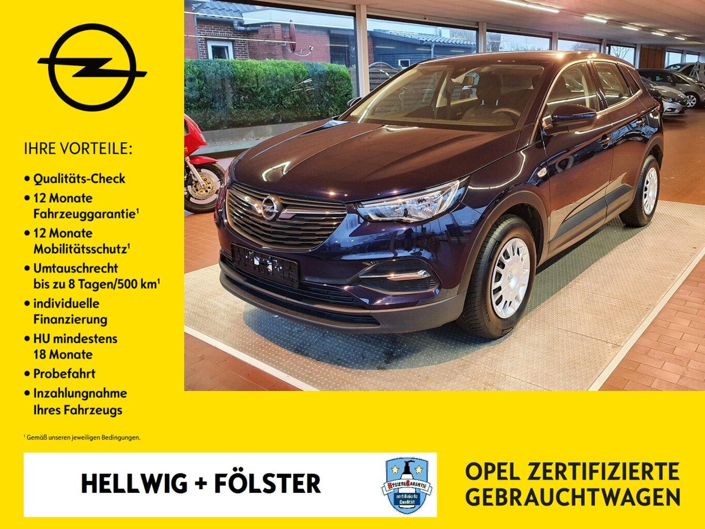 Opel Grandland X 1.2 Turbo Selection, Jahr 2019, Benzin