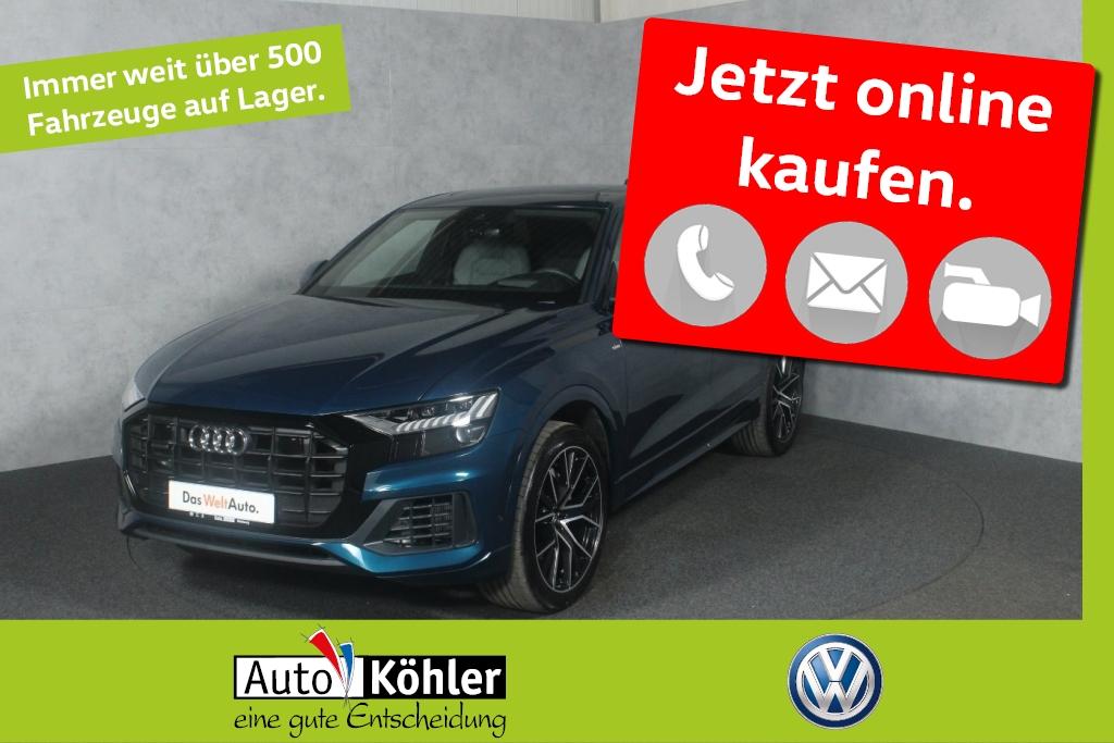 Audi Q8 TDi S line Bang & Olufsen /Allradlenkung AIR, Jahr 2018, Diesel