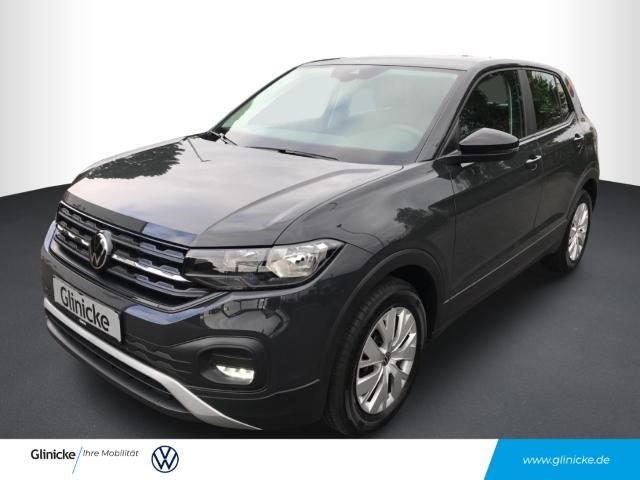 Volkswagen T-Cross Basis 1.0 TSI EU6d LED-hinten RDC Klima SHZ USB MP3 ESP Spieg. beheizbar, Jahr 2020, Benzin