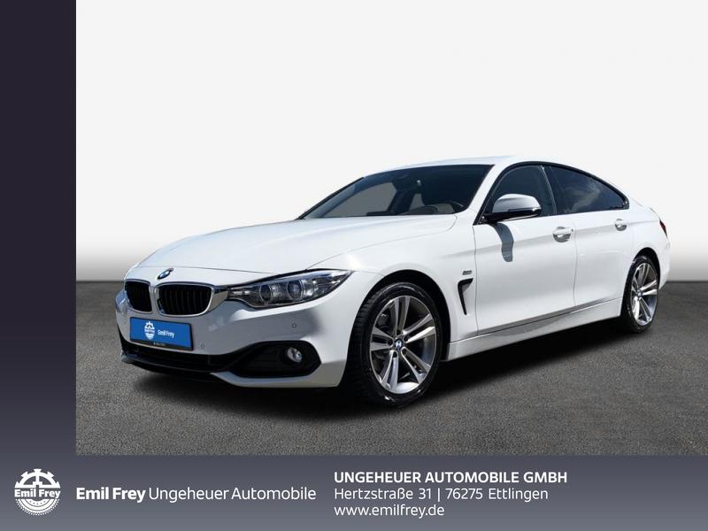 BMW 420i Gran Coupé Sport Line Head-Up HK HiFi DAB, Jahr 2016, Benzin