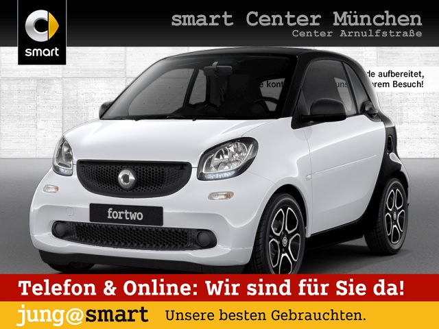 smart fortwo coupé 52kW passion DCT cool&Audio SHZ Pano, Jahr 2017, Benzin