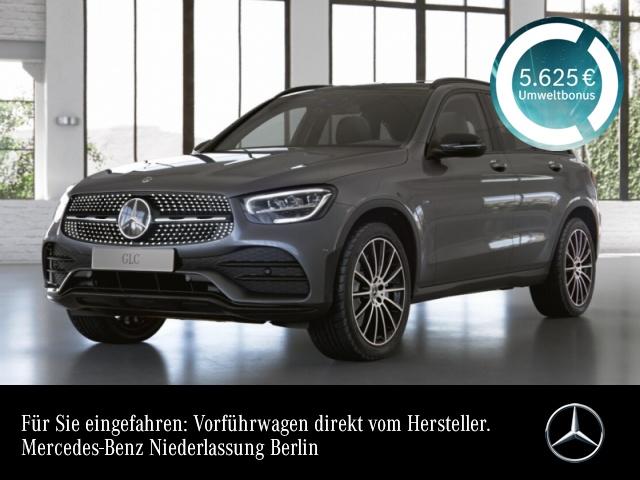 Mercedes-Benz GLC 300 e 4M AMG+Night+Pano+LED+Kamera+Spur+Totw, Jahr 2021, Hybrid