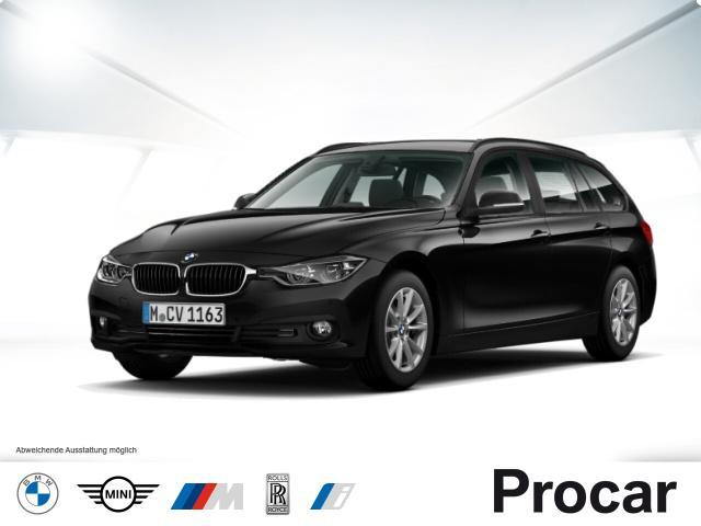 BMW 320d Touring Aut. Advantage Navi LED Klimaaut., Jahr 2017, Diesel