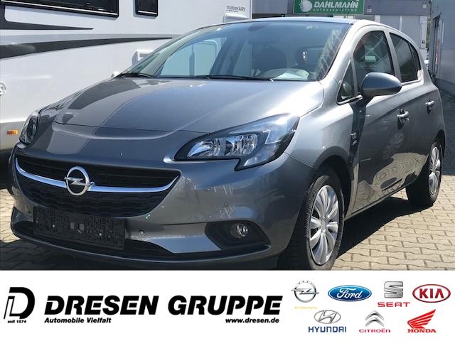 Opel Corsa E AUTOMATIK-5tg-1.4i/Kamera/Navi+TouchInt Sitz+LkdHeizg/BC/Alu-LMF/PDCvo+hi/ZV/Active, Jahr 2018, Benzin
