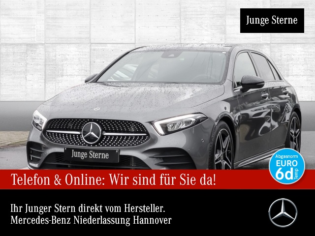 Mercedes-Benz A 180 AMG Navi Premium LED Night Spurhalt-Ass PTS, Jahr 2019, Benzin