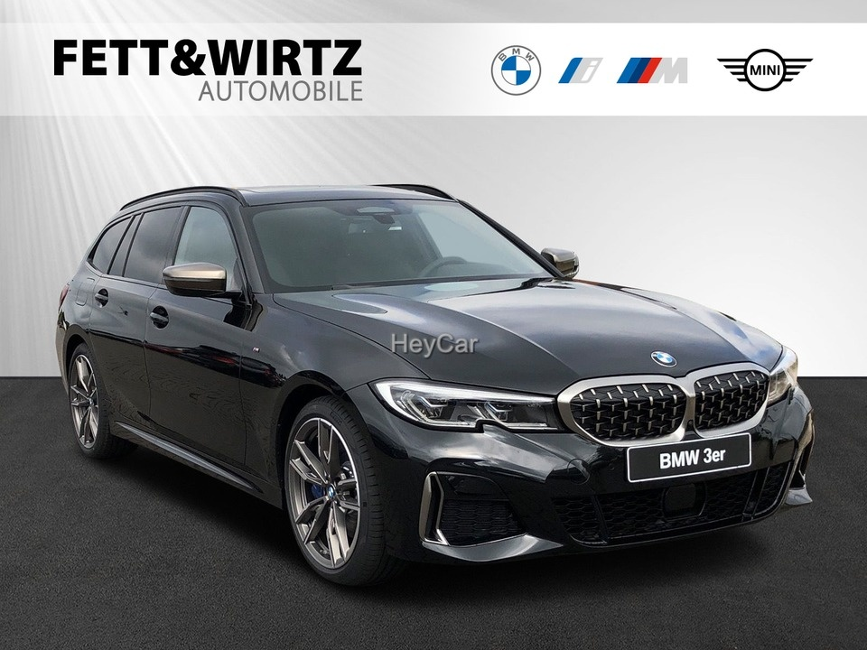 BMW M340d xDrive Tour. Laser HUD Pano Standh H/K AHK, Jahr 2021, Diesel