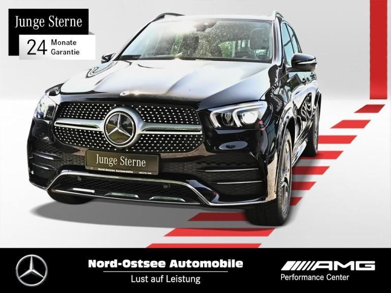 Mercedes-Benz GLE 300 d 4M AMG Navi Kamera LED Keyless SHZ AHK, Jahr 2020, Diesel