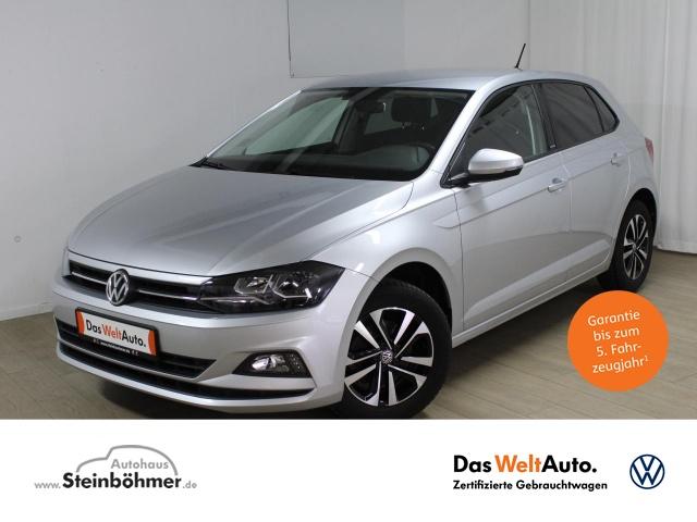 """Volkswagen Polo UNITED 1.0TSI Navi ActiveInfo Sitzhz 15""""Alu, Jahr 2020, petrol"""