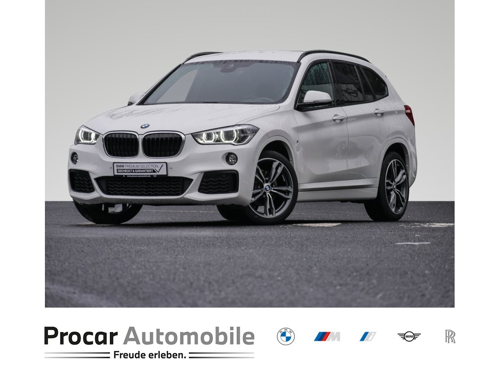 BMW X1 sDrive18d M-SPORT+LED+BUSI. PACKAGE+PDC+NAVI+SHZ+DRIV.ASS+, Jahr 2019, Diesel