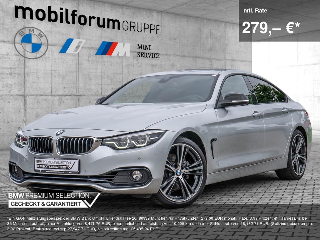 BMW 430i Gran Coupé Sport Line, Jahr 2018, Benzin
