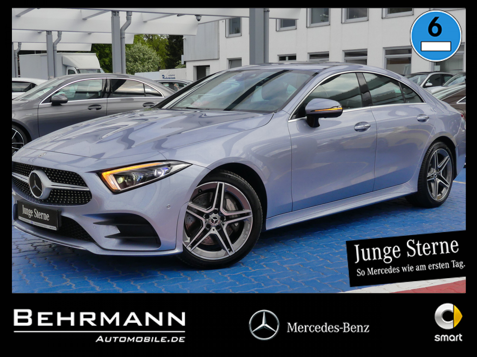 Mercedes-Benz CLS 450 AMG 4M +Distronic+360°Kam+MultibeamLED++, Jahr 2020, Benzin