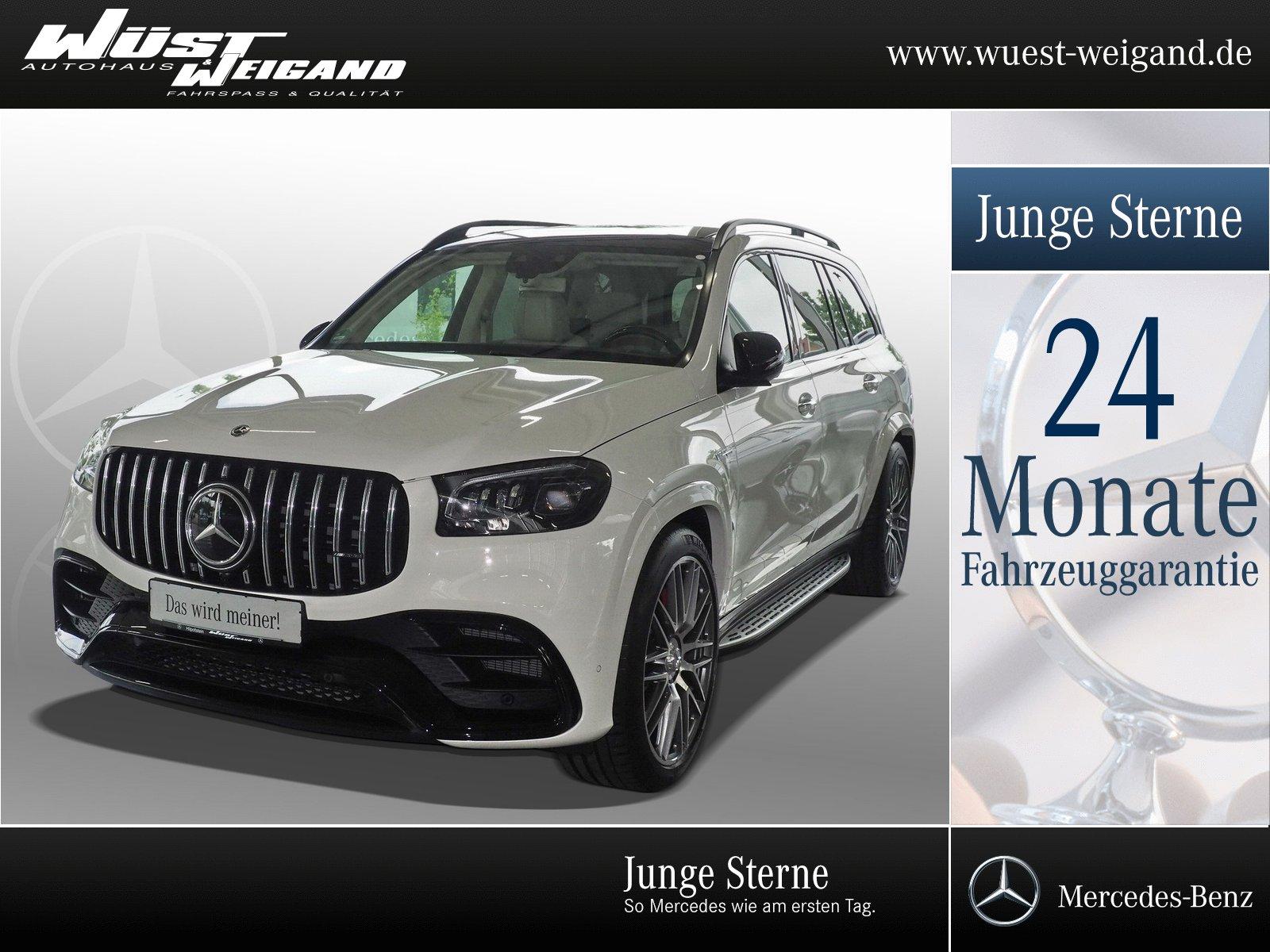 Mercedes-Benz Mercedes-AMG GLS 63 4MATIC+Pano.Dach+Night+Multi, Jahr 2020, Benzin
