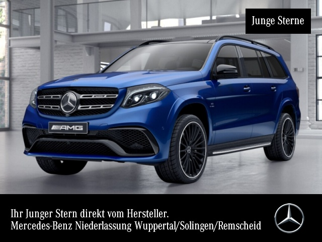 Mercedes-Benz GLS 63 AMG 4Matic Sportpaket Bluetooth Navi LED, Jahr 2018, Benzin