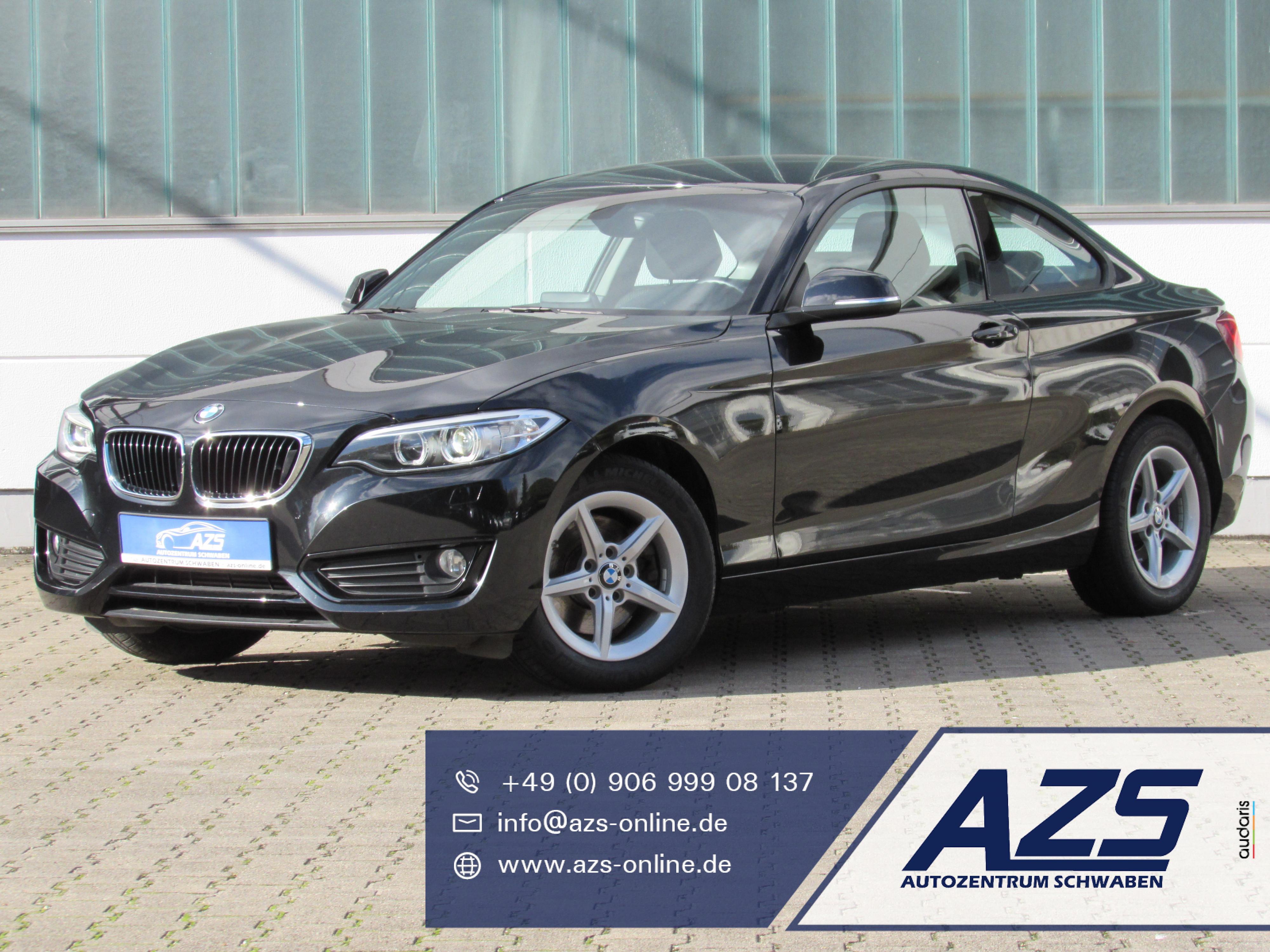 BMW 220i Coupe Advantage   AZS-SICHERER-ONLINE-KAUF, Jahr 2016, Benzin