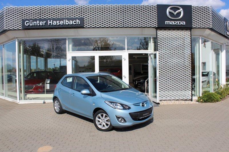 Mazda 2 MZR EDITION Klimaautomatik / SH-geflegt, Jahr 2012, Benzin