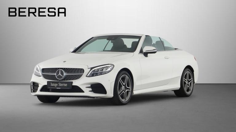 Mercedes-Benz C 180 Cabriolet AMG Spur LED Kamera *Schalter*, Jahr 2019, Benzin