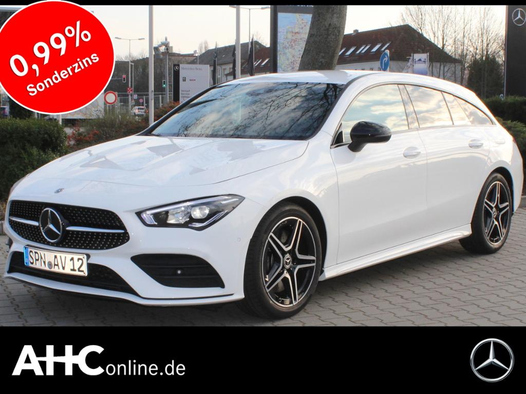 Mercedes-Benz CLA 220 Shooting Brake AMG+LED+NAVI/MBUX+SPUR-P., Jahr 2019, Benzin