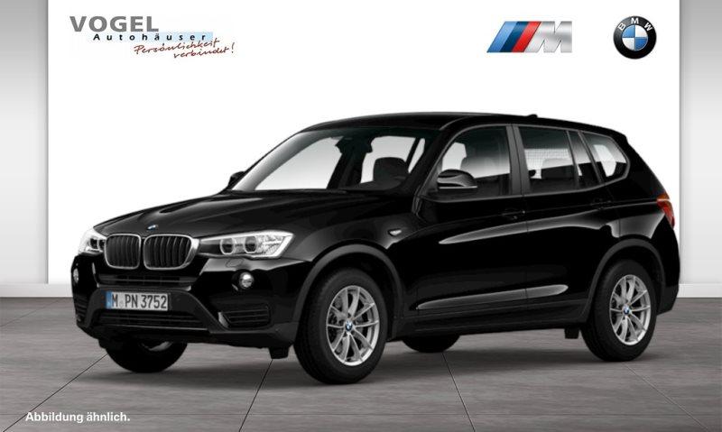 BMW X3 xDrive20d Modell Advantage Euro 6 Navi Bus. Head-Up Display PDC Driving Assistant Klima Shz Xenon Speed Limit Info Lichtpaket Tempomat Komfortzugang, Jahr 2016, Diesel