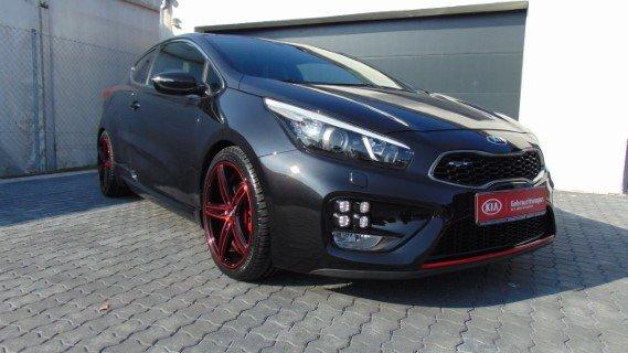Kia pro_ceed GT 1.6T 204PS *SR+WR*Wartungsflat*3-Türer*, Jahr 2014, Benzin