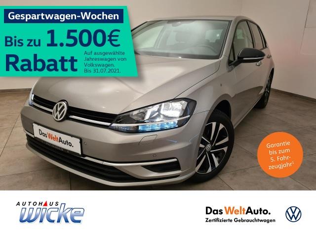 Volkswagen Golf VII 1.0 TSI IQ.DRIVE ACC Klima Navi Sitzhzg, Jahr 2019, Benzin