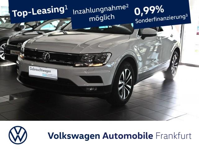 Volkswagen Tiguan 2.0 TDI Comfortline Einparkhilfe Navi Leichtmetallfelgen AHK Tiguan 2.0 CLBMTFR 110TDIM6F, Jahr 2020, Diesel