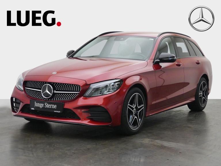 Mercedes-Benz C 200 d T AMG+Navi+Mbeam+AHK+SpurP+NightP+Kamera, Jahr 2019, Diesel