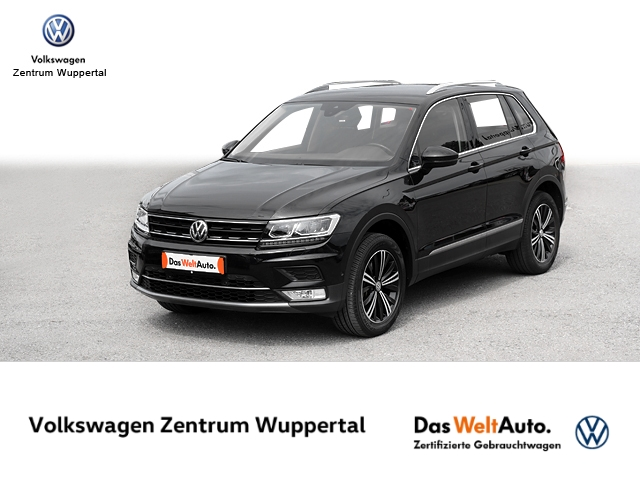 Volkswagen Tiguan 2 0 TSI Highline 4M DSG NAVI LED VC SHZ PDC, Jahr 2017, Benzin