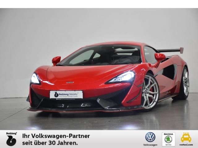 McLaren 570S GT4 Aeropaket Carbon Keramik Lift Garantie KWS Fahrwerk, Jahr 2019, Benzin