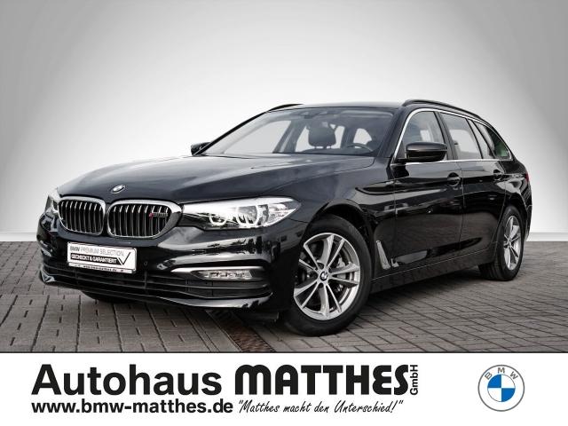 BMW 525 d Touring Leder LED Navi Parklenkass. Rückfahrkam. El. Heckklappe PDC LED, Jahr 2018, Diesel