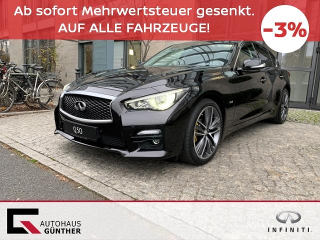 Infiniti Q50 2.2d RWD Autom. Sport Tech Vollausstatung, Jahr 2016, Diesel