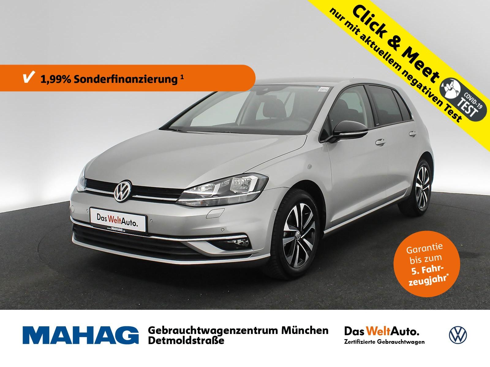 Volkswagen Golf VII 1.0 TSI IQ.DRIVE Navi Sitzhz. ParkAssist LightAssist FrontAssist 16Zoll 6-Gang, Jahr 2019, Benzin