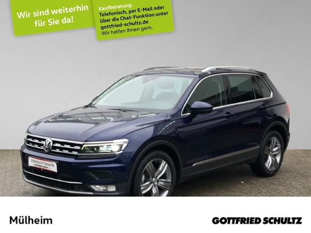 Volkswagen Tiguan 2.0 TDI Highline AHK HEAD-UP KAMERA+VIRTUAL+PANO, Jahr 2017, Diesel