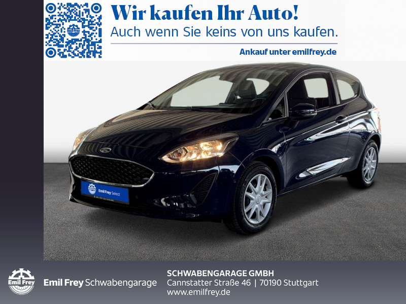 Ford Fiesta 1.1 S&S TREND, Jahr 2018, Benzin