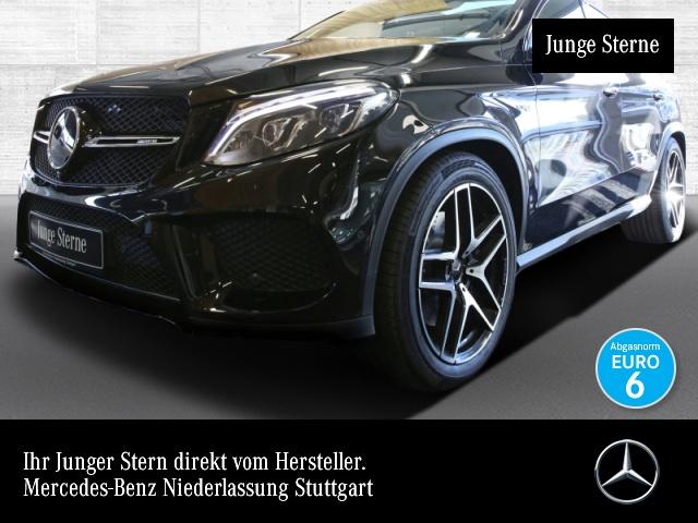 Mercedes-Benz GLE 43 AMG Cp. 4M 360° Airmat Pano Harman Distr., Jahr 2017, petrol