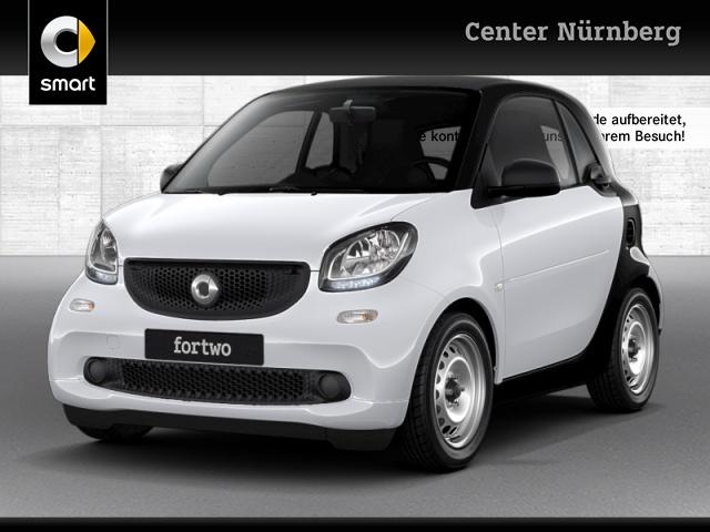 smart fortwo coupé 52kW cool&Audio Direktlenkung Tempom, Jahr 2018, Benzin