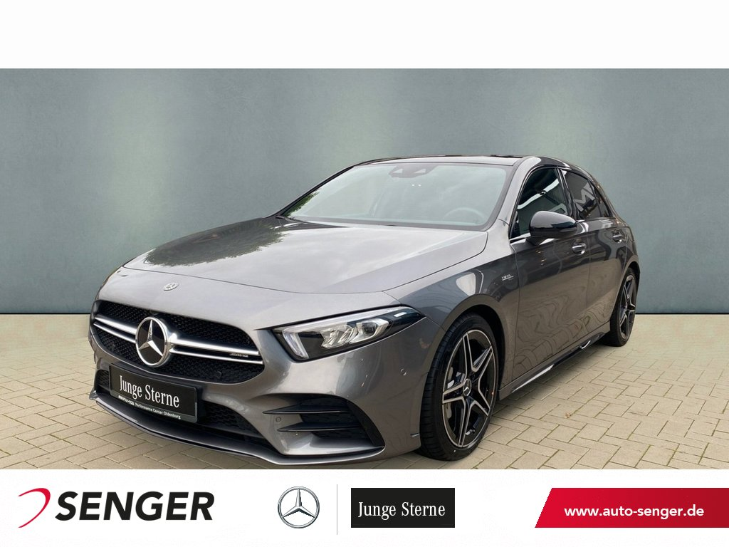 Mercedes-Benz A 35 AMG 4M Night Panorama Navi LED Totwinkel, Jahr 2020, Benzin