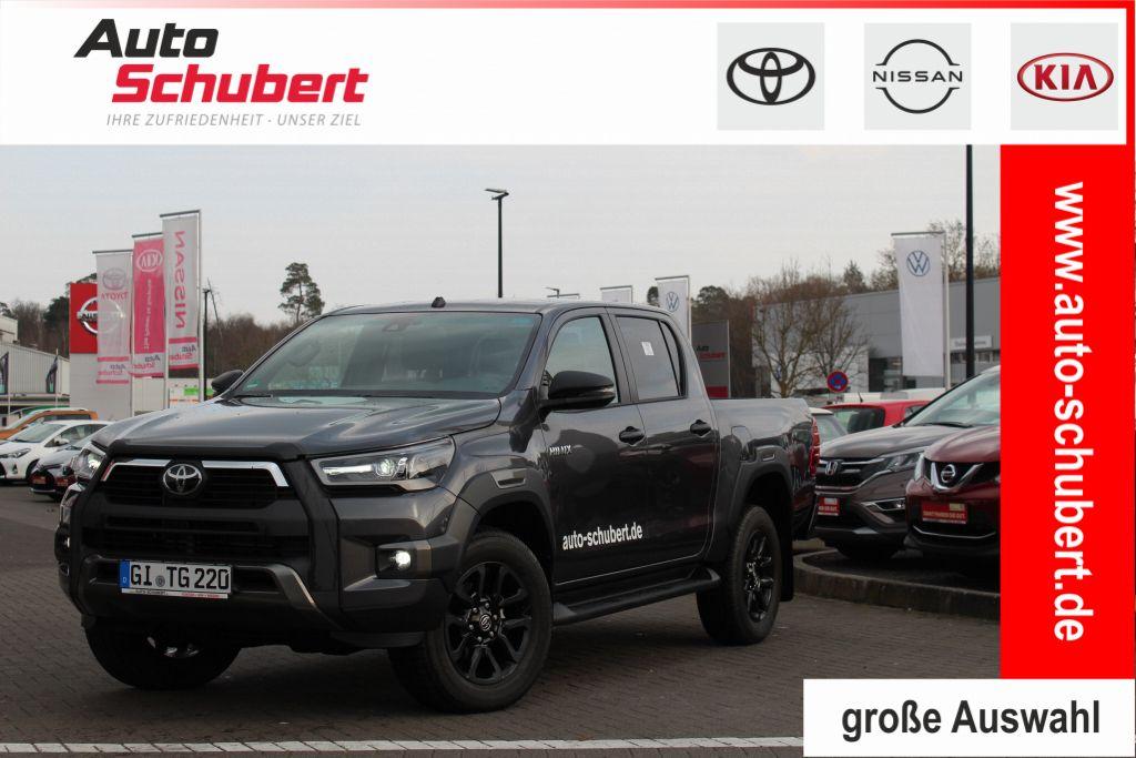 Toyota Hilux 4x4 Double Cab Invincible+NAVI+BI-LED+DIFF, Jahr 2021, Diesel