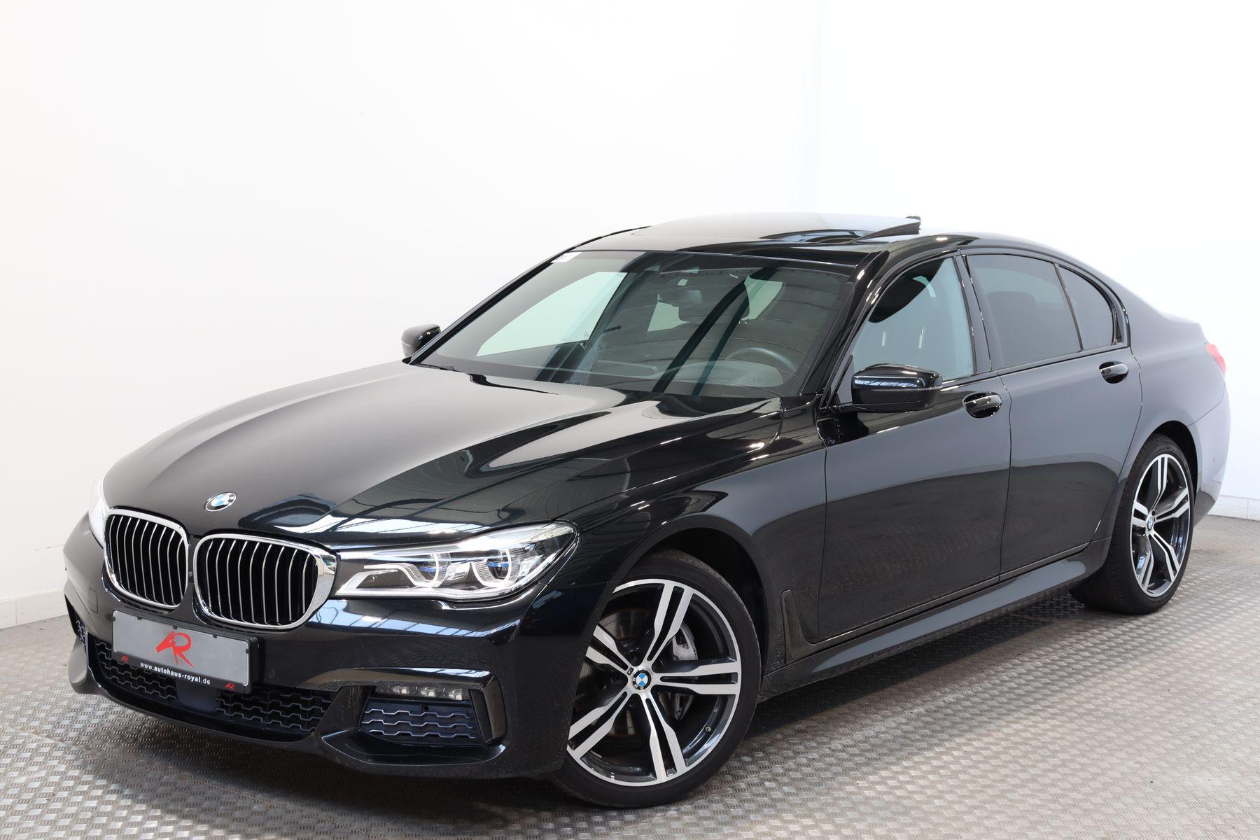 BMW 740 xDrive M SPORT DIG.TACHO,LASER,HEADUP,GESTIK, Jahr 2017, Diesel