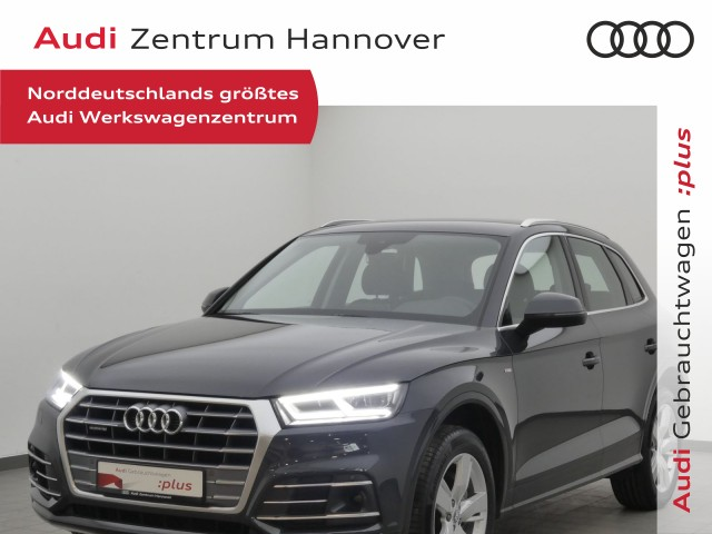 Audi Q5 2.0 40 TDI Sport, ACC, AHK, LED, Navi, Jahr 2019, Diesel