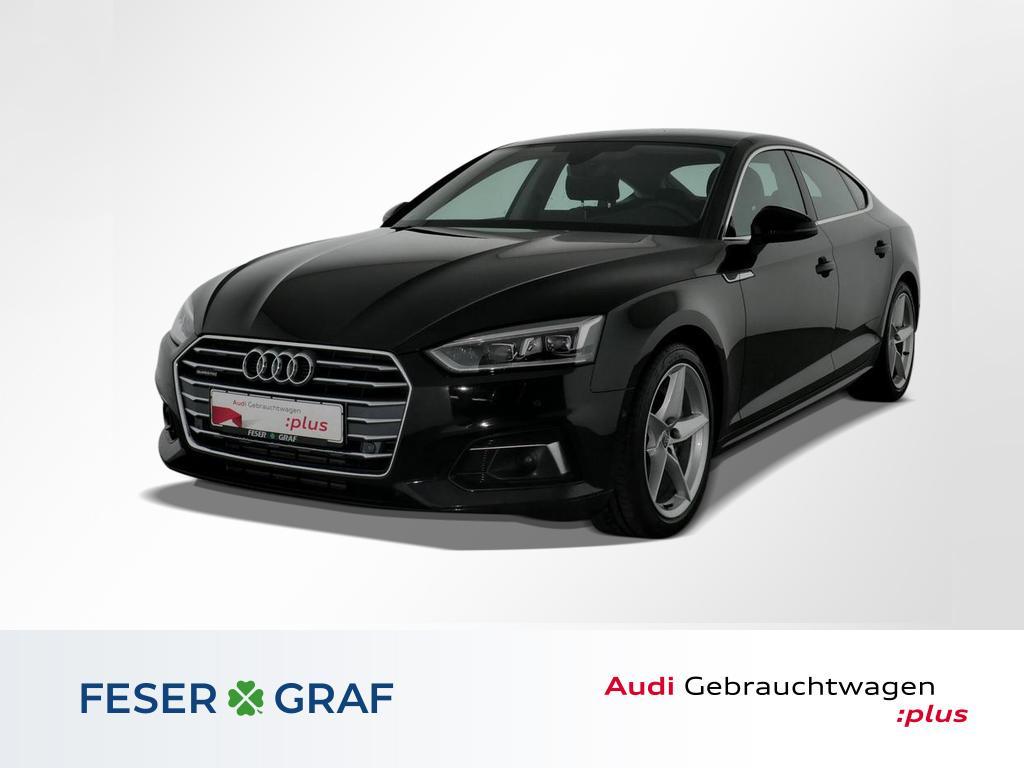 Audi A5 Sportback sport 2.0TFSI qu.S tro Navi,LED,HUD, Jahr 2018, Benzin
