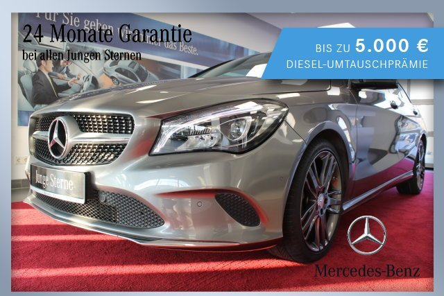 Mercedes-Benz CLA 200 Shooting Brake Urban+LED+Navi+Sitzhzg+BC, Jahr 2016, Benzin