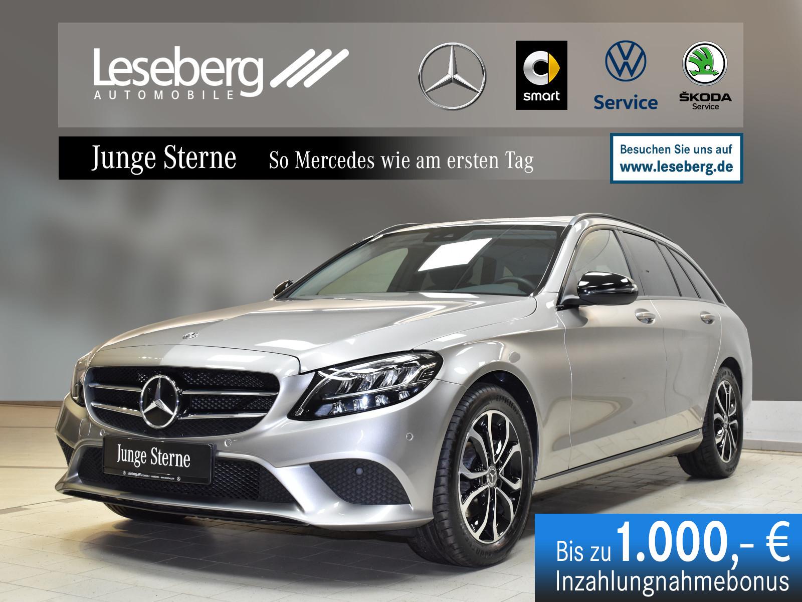Mercedes-Benz C 200 d T Avantgarde/Night/Kamera/LED/9G/Navi, Jahr 2019, Diesel