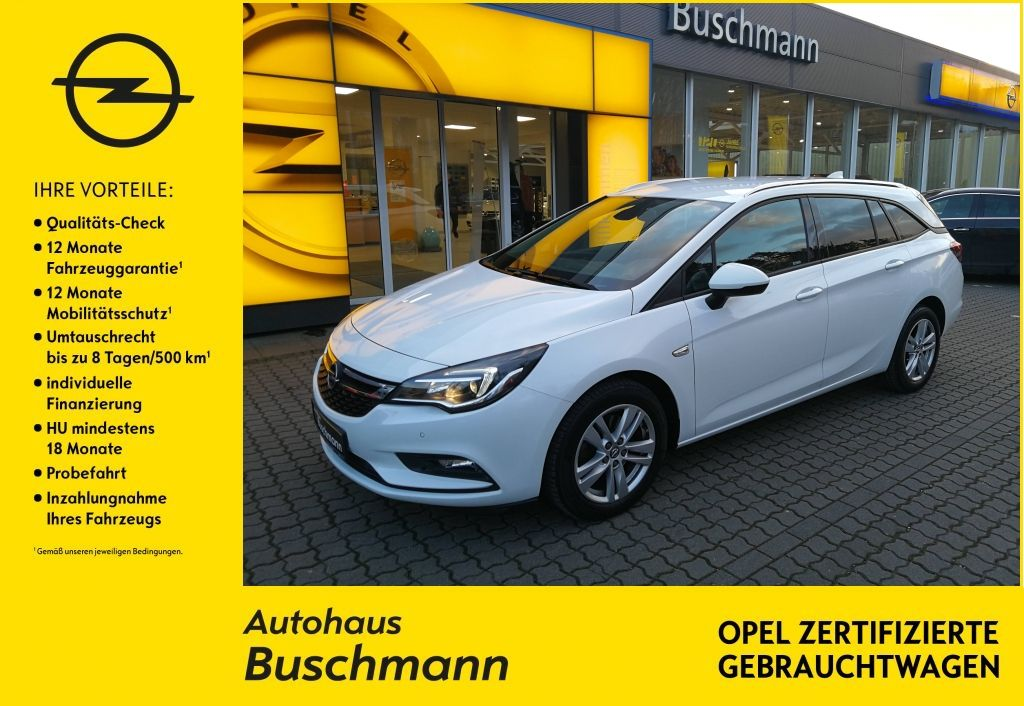 Opel Astra 1.6 Turbo AT Active+NAVI+PDC+SHZ+, Jahr 2017, Benzin