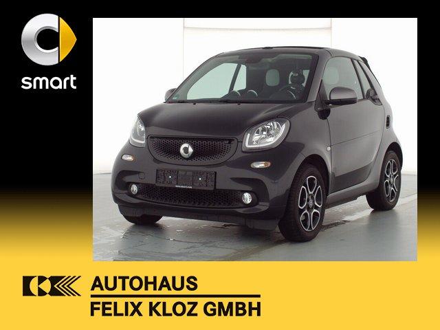 smart smart fortwo cabrio 66kW*Navi*DAB*4SEASON*SITZHE, Jahr 2019, Benzin