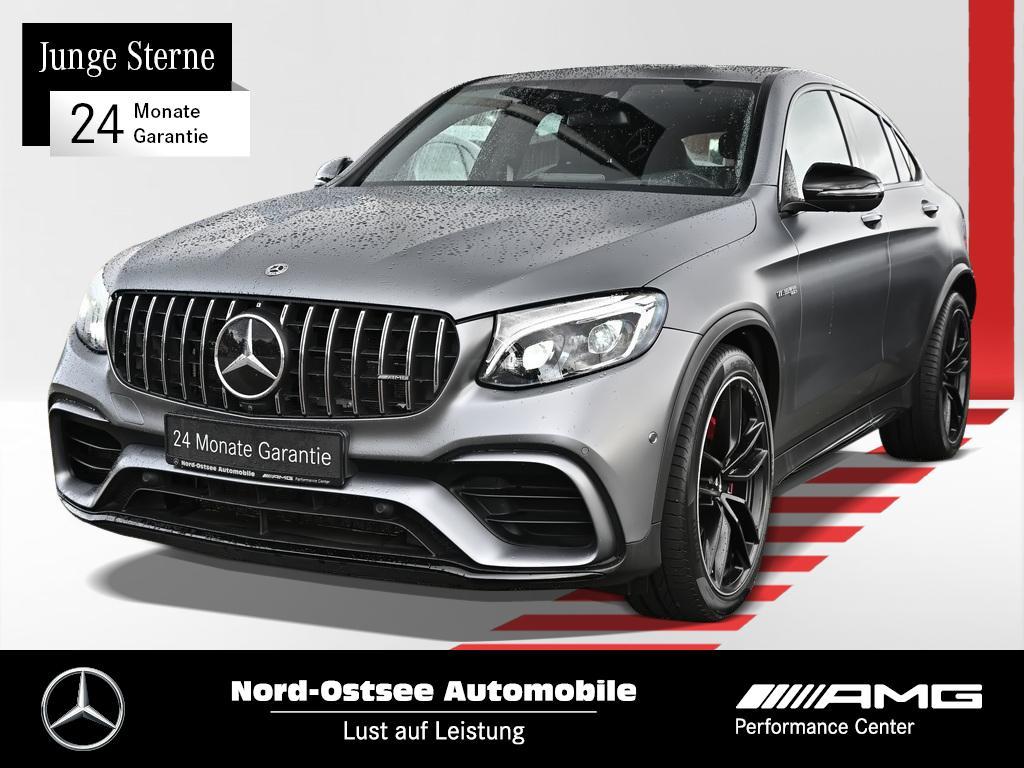 Mercedes-Benz GLC 63 S AMG 4M Drivers P. Distr. 360° Night, Jahr 2019, Benzin