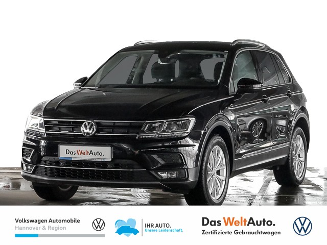Volkswagen Tiguan 1.4 TSI Highline 4Motion ACT Navi Klima Einparkhilfe, Jahr 2018, Benzin