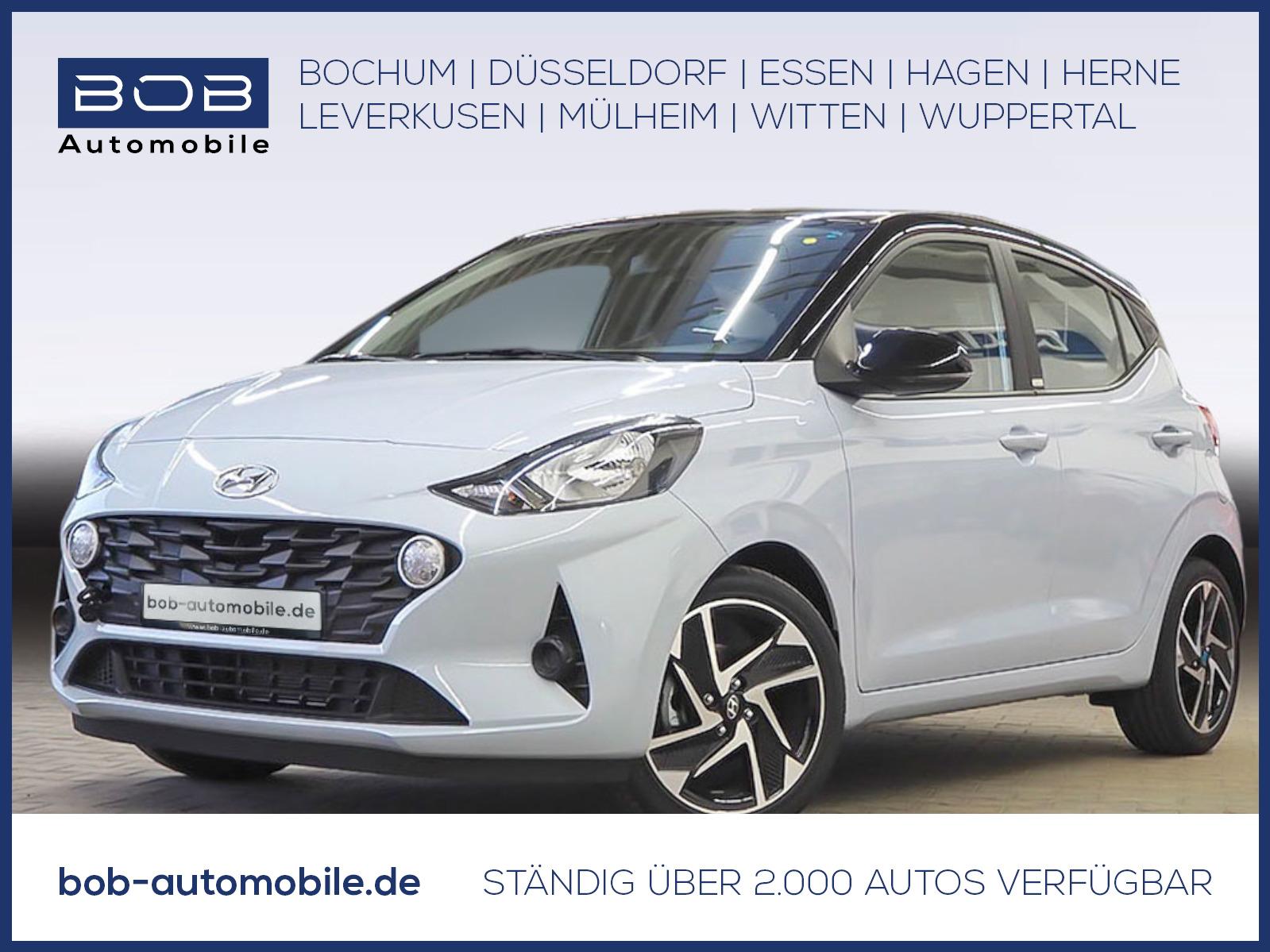 """Hyundai i10 1.0 A/T Trend Komfort-P Navi-P 16""""Alu Kamera, Jahr 2020, petrol"""