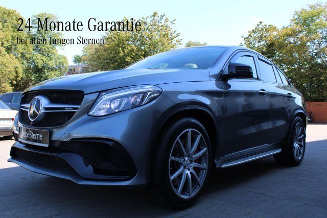 Mercedes-Benz Mercedes-AMG GLE 63 S 4MATIC Coupé LED+Distronic, Jahr 2017, Benzin