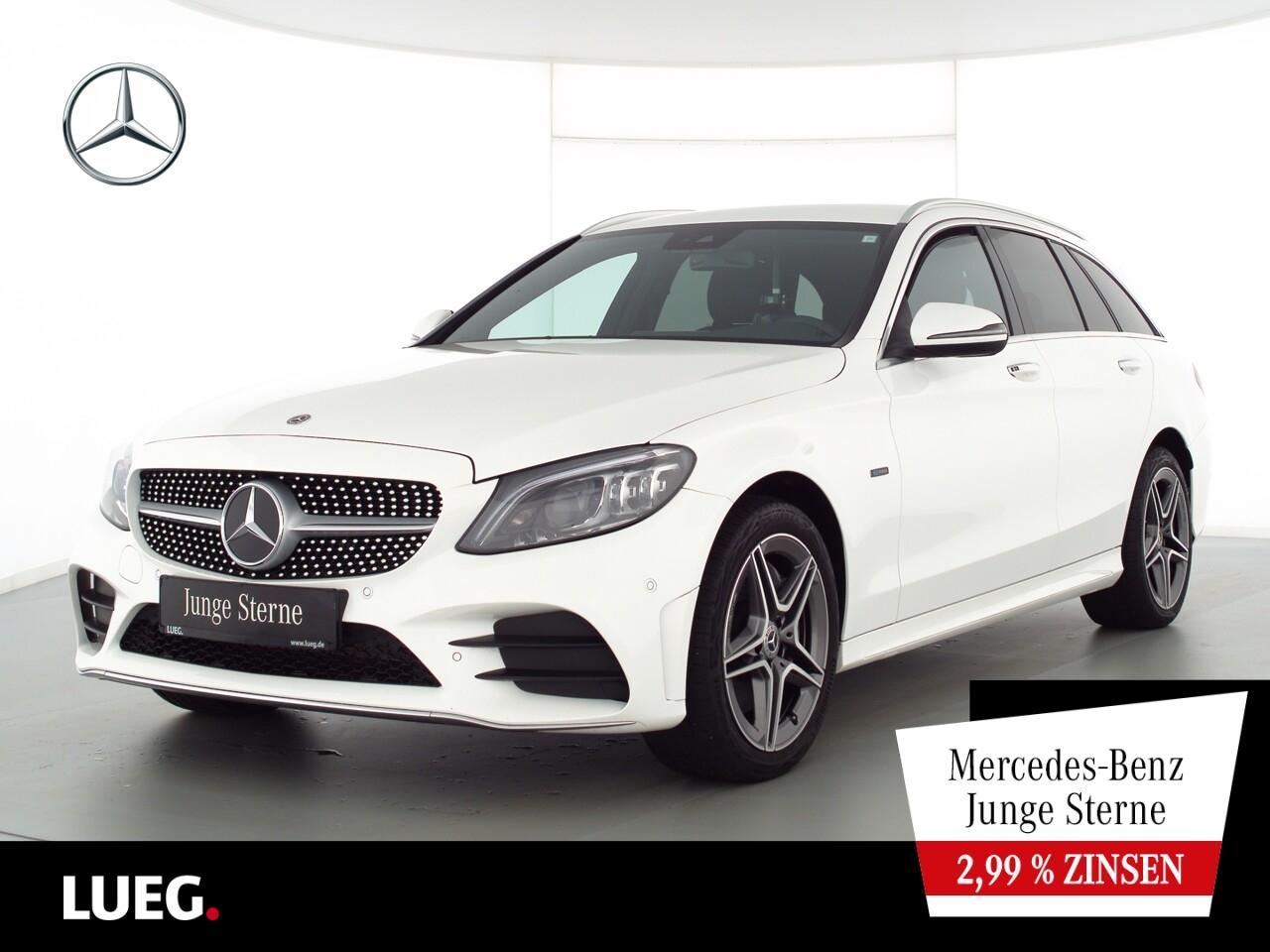 Mercedes-Benz C 300 de T AMG+COMAND+Mbeam+SpurP+CarP+ParkA+RFK, Jahr 2020, Hybrid_Diesel