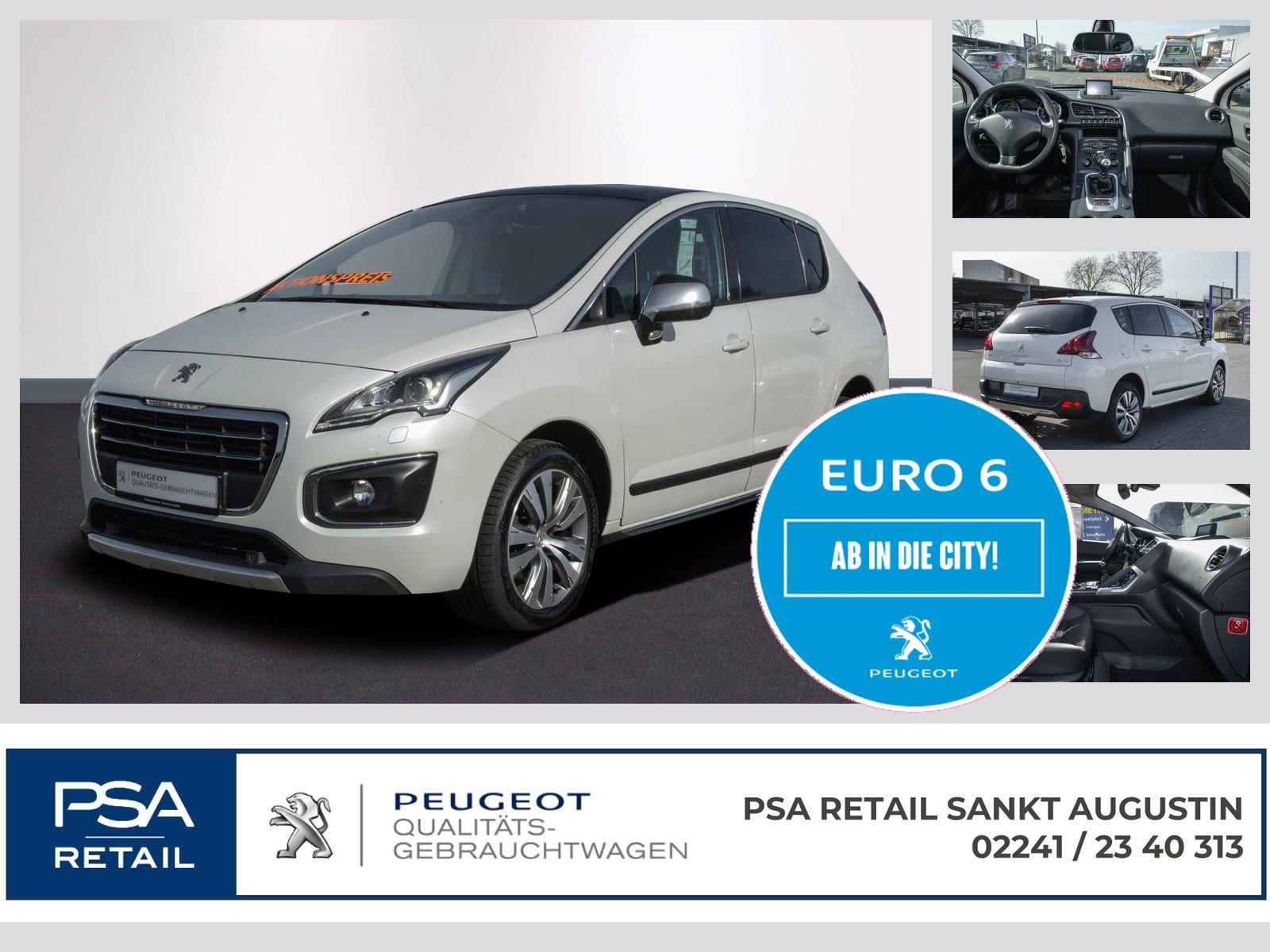 Peugeot 3008 Allure BlueHDi 150 PGDach Navi Xenon JBL, Jahr 2016, Diesel